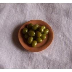 Piatto olive verdi 016