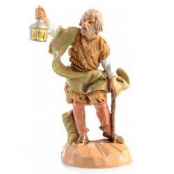 Anziano con lanterna