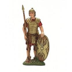 Soldato romano con scudo ovale