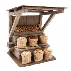 Venditore/trice di cereali e patate 104