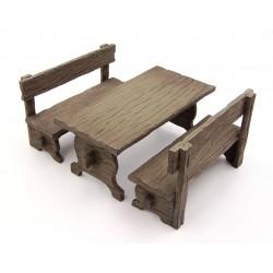 Tavolo con panche 026