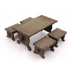 Tavolo con sgabelli 027