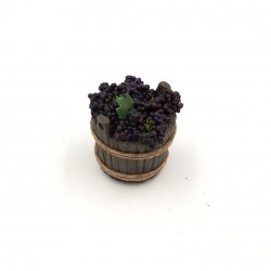 Mastello con uva rossa 061