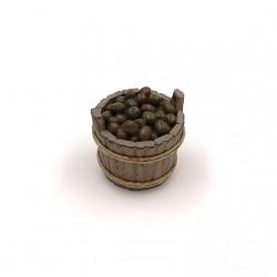 Mastello con olive da tavola 019