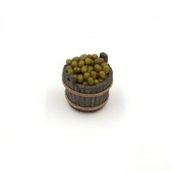 Mastello con olive per olio 023