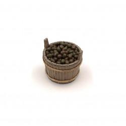 Tinozza con olive da tavola 026