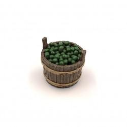 Tinozza con olive da tavola 027