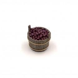 Tinozza con olive da tavola 028