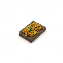 Cassetta con uva da tavola bianca 030