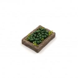 Cassetta con olive da tavola 034