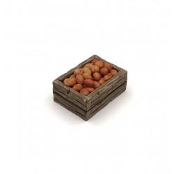 Cassetta con patate rosse 036